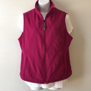 Columbia Vest Pink Berry Size L